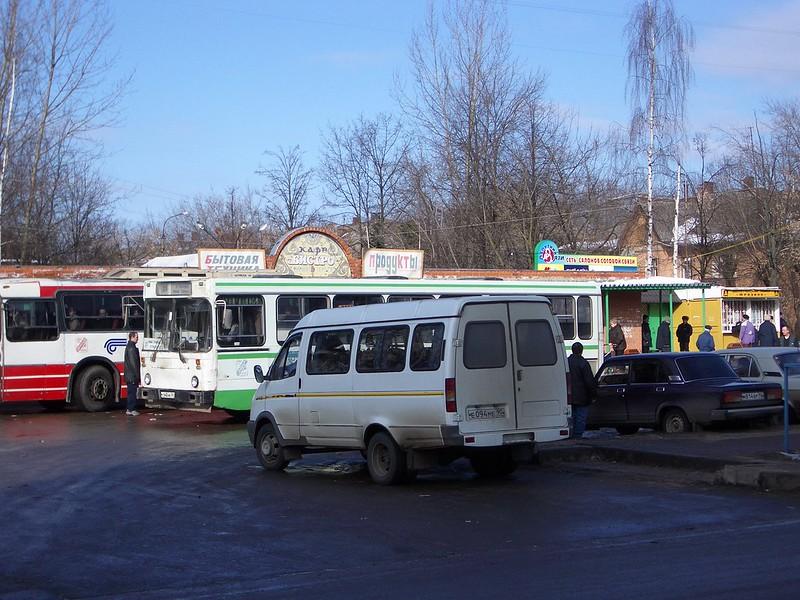 Pleshka. Bushaltestelle.2004