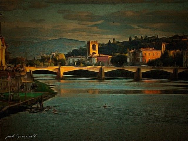Evening Falls on Florence