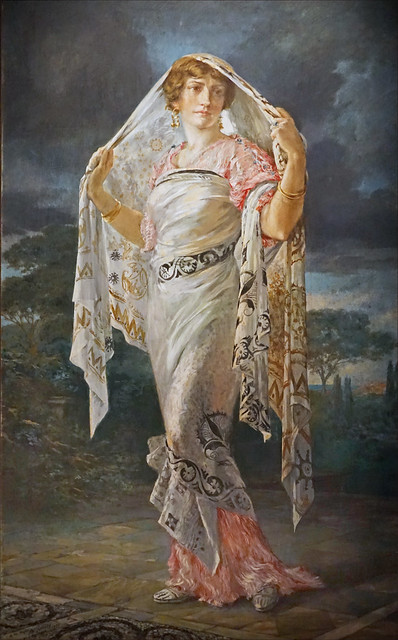 Henriette Fortuny par Mariano Fortuny (musée Fortuny, Venise)