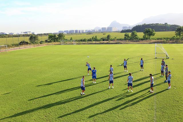 Treino Grêmio no Rio de Janeiro 11/06/19