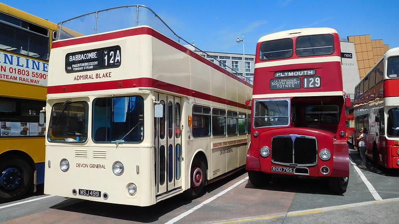 MSJ 499 & ROD 765 Plymouth  16 July 2016