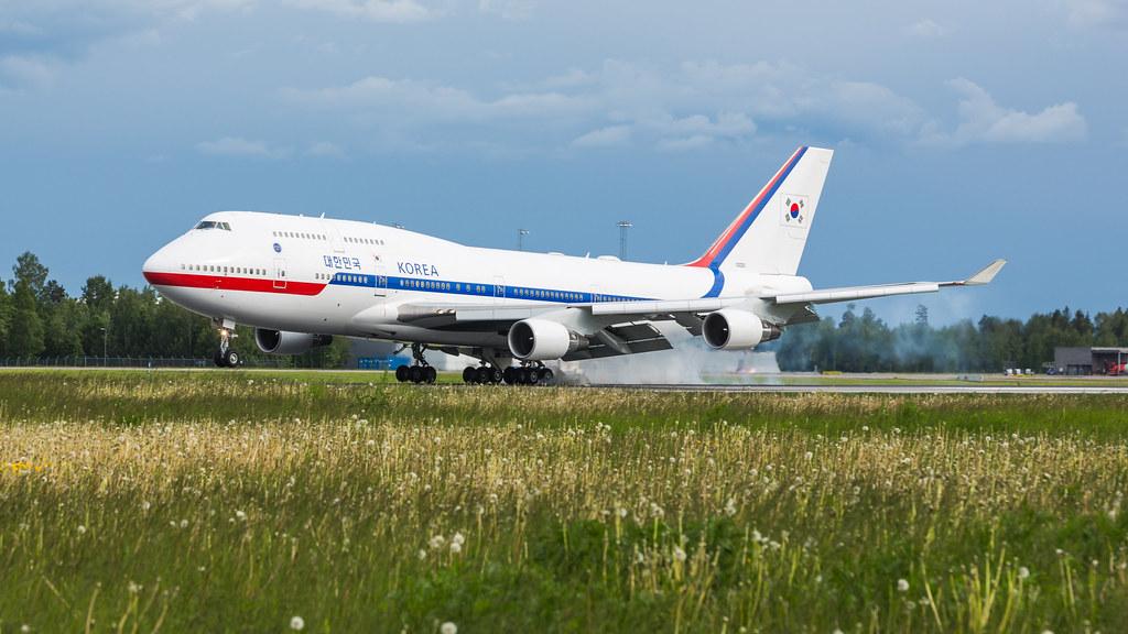 10001 Korean Government Boeing 747-400