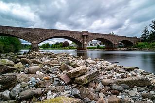 Ballater Bridge over the River Dee