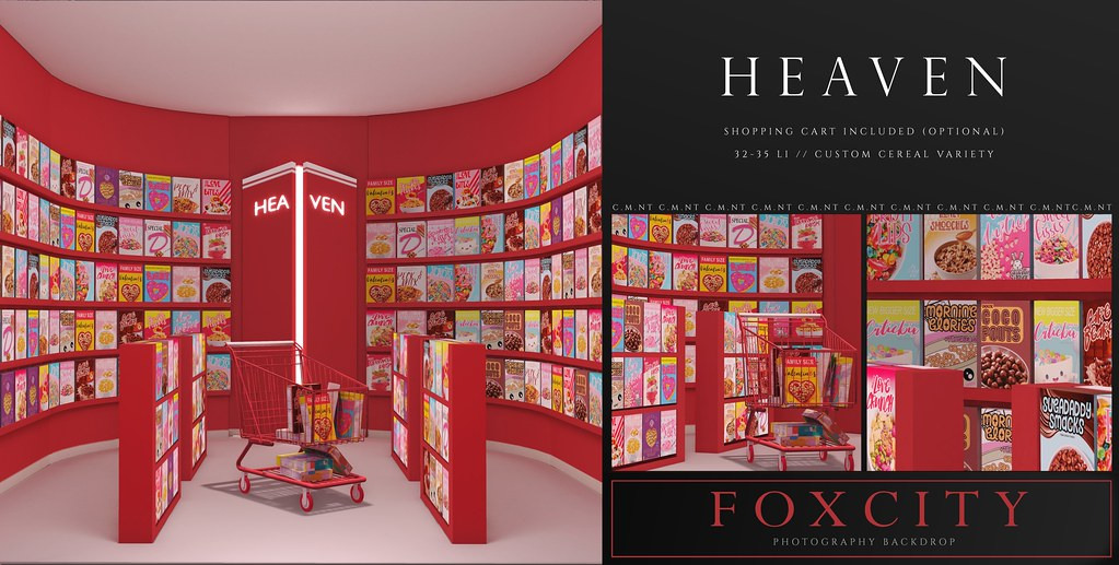 FOXCITY. Photo Booth – Heaven