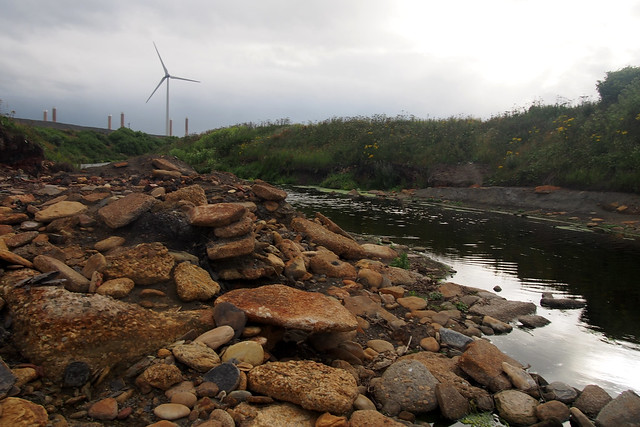 The River Lyne near Lynemouth