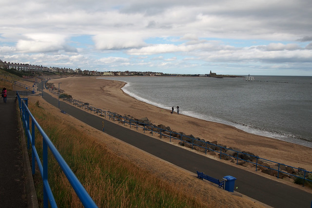 The beach at Newbiggin-by-the-Sea
