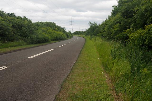 The road near East Sleekburn