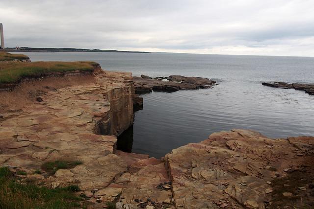The coast north of Newbiggin-by-the-Sea