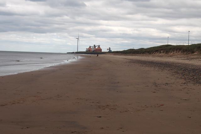 The beach at North Blyth