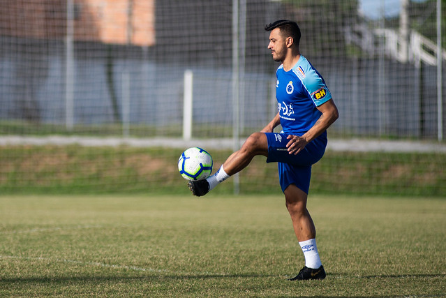 Treino do Cruzeiro - 11/06/2019