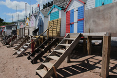 Beach Huts at Corbyn Head.
