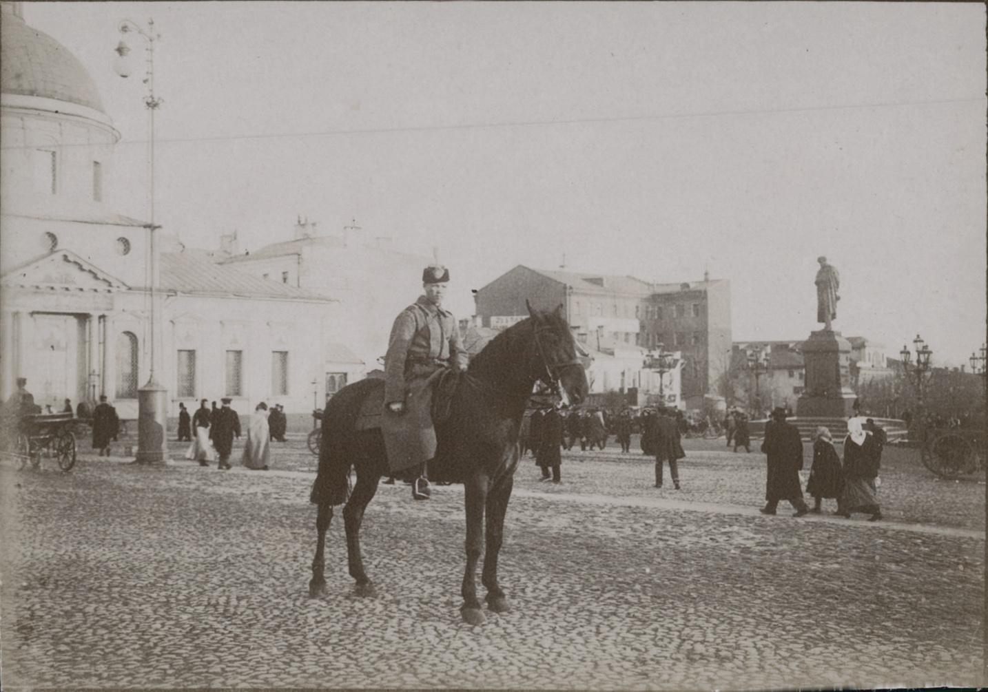 Страстная площадь. 1895
