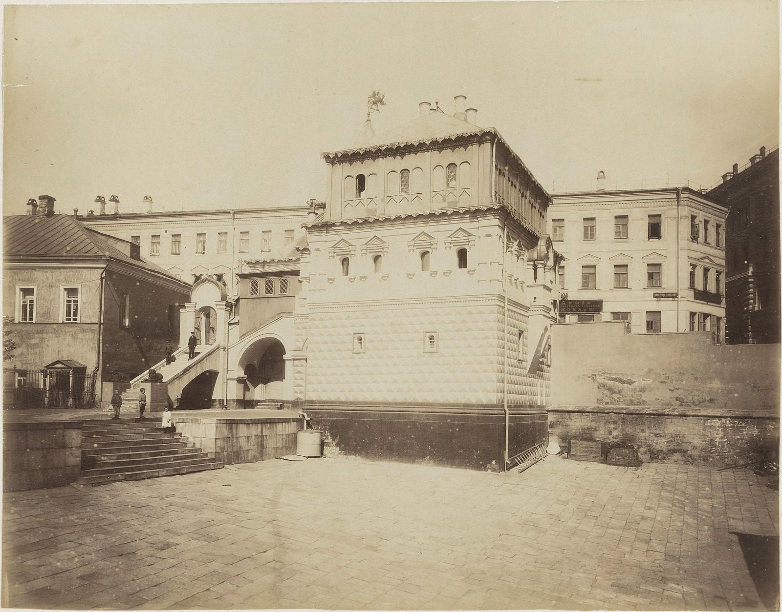 Палаты бояр Романовых. 1890-е