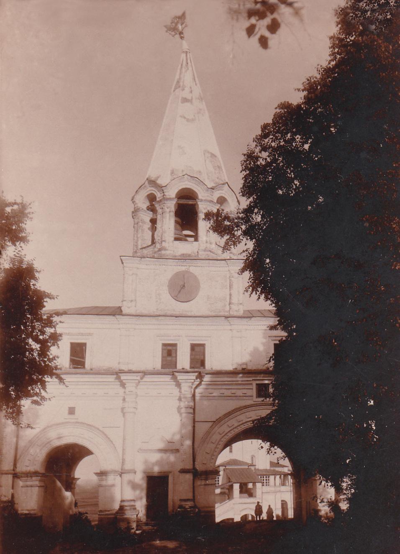 Коломенское. Передние ворота. 1903