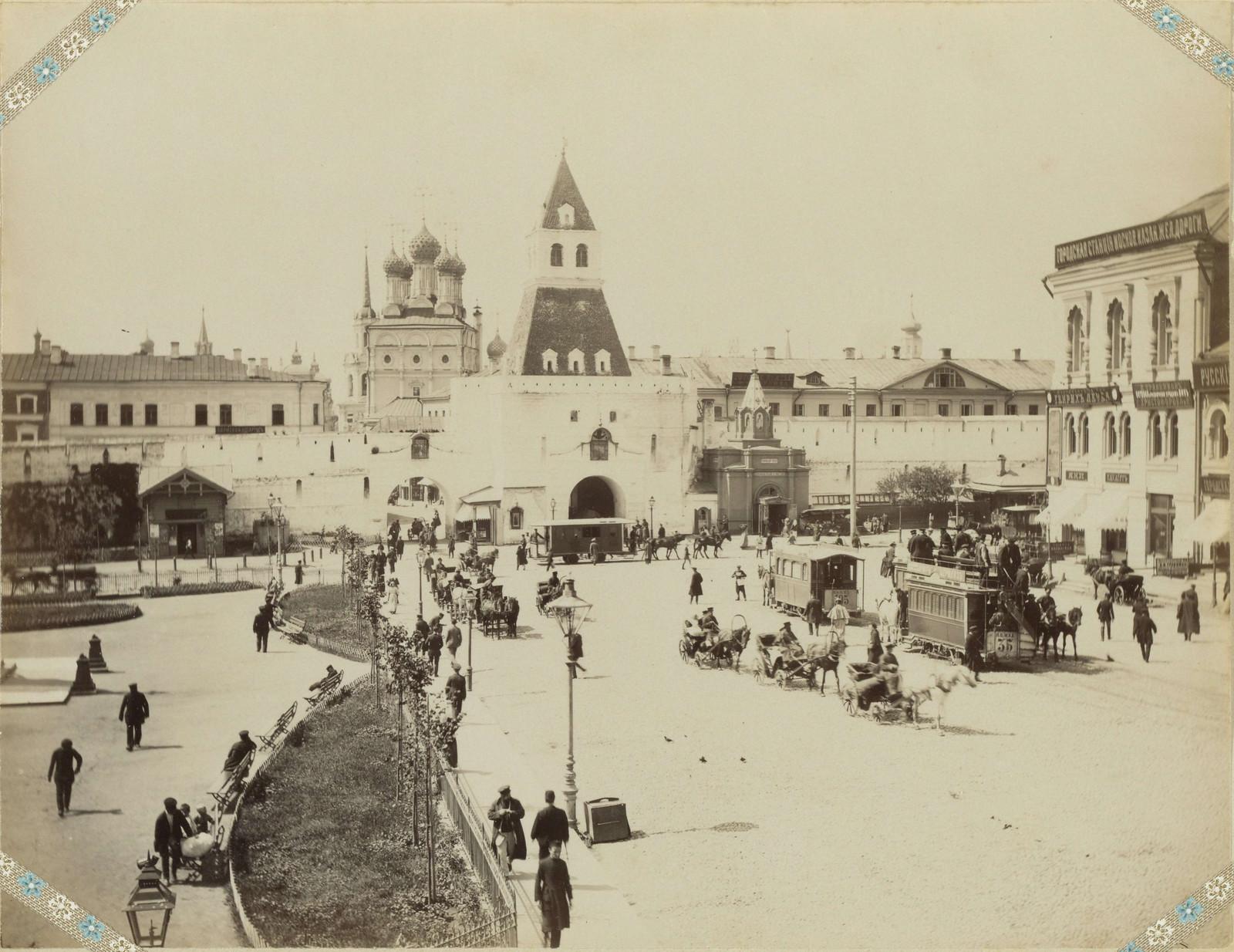 Ильинские ворота. 1890