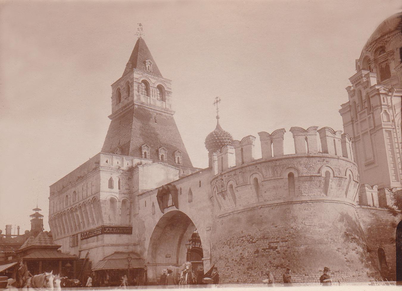 Владимирские ворота. 1903