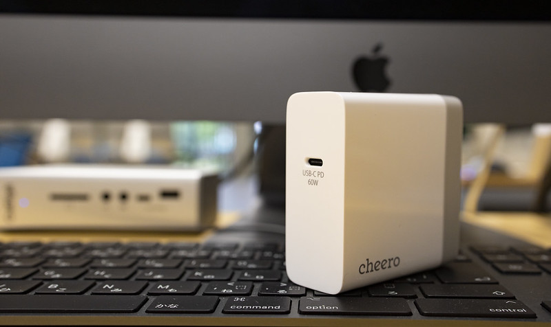 cheero USB-C PD Charger 60W_01