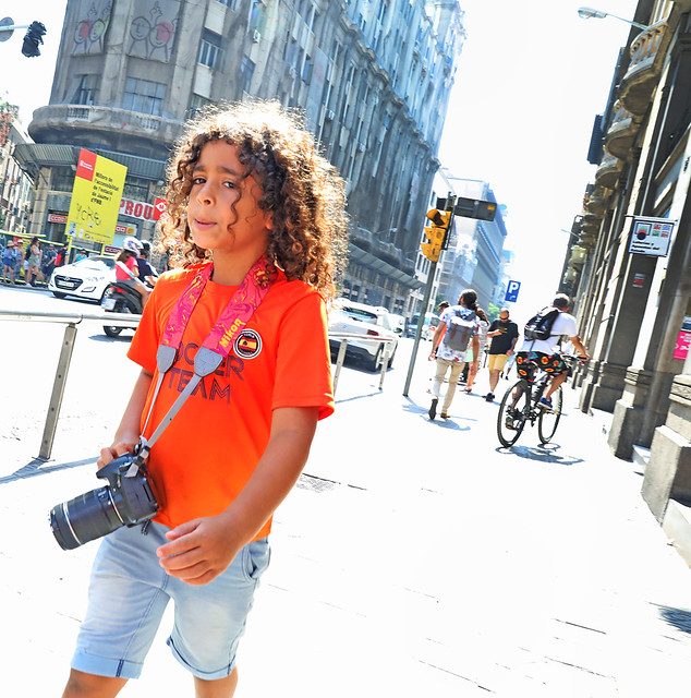 The Young Photographer from Barcelona