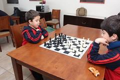 Carrera de Campeones Sub 8 de ajedrez