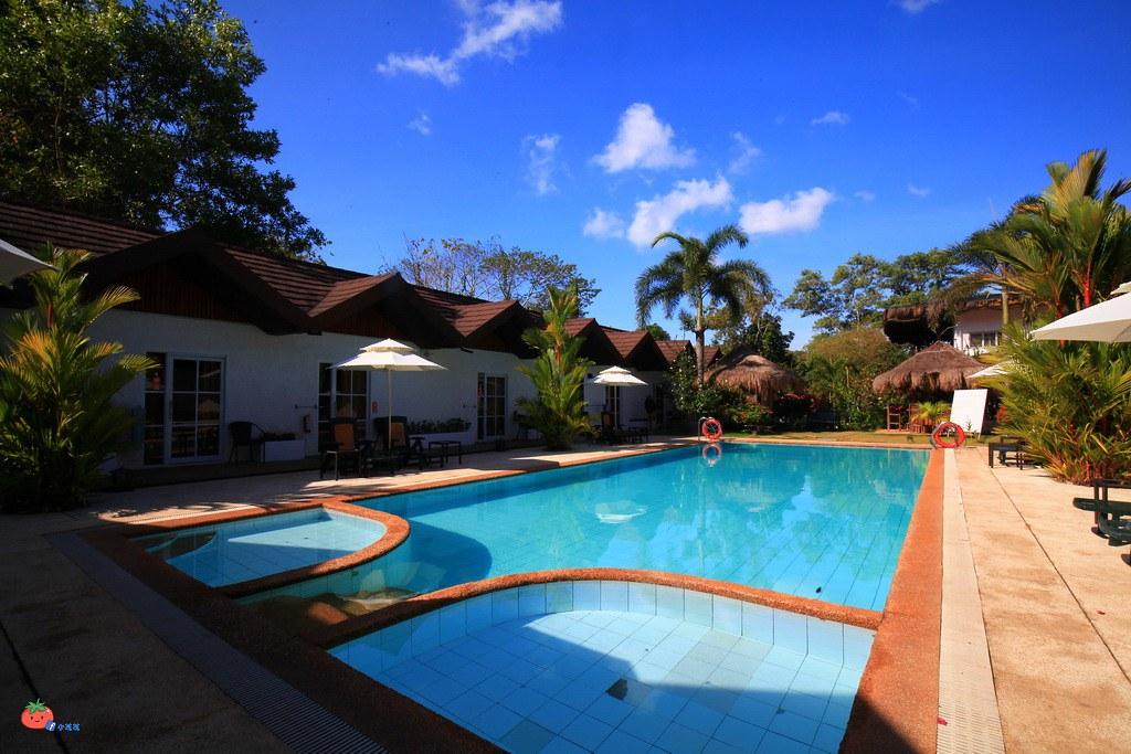 科隆島平價飯店推薦Sunz En Coron Resort泳池