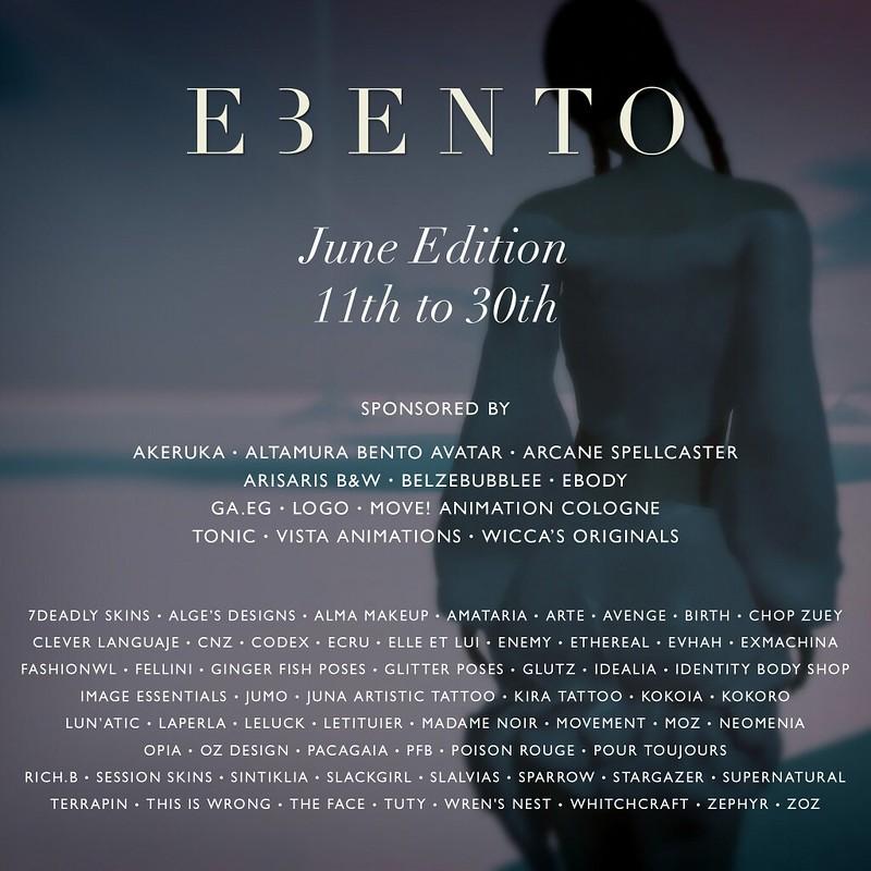 eBento - June Round