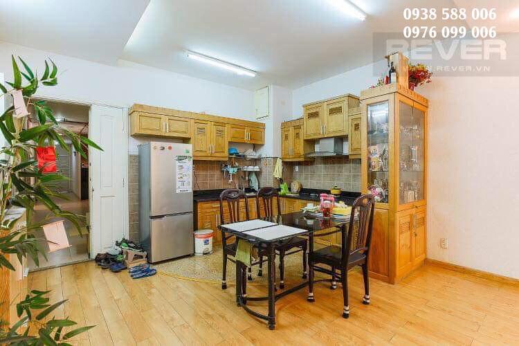 phòng bếp và phòng ăn của căn hộ khánh hội 2.