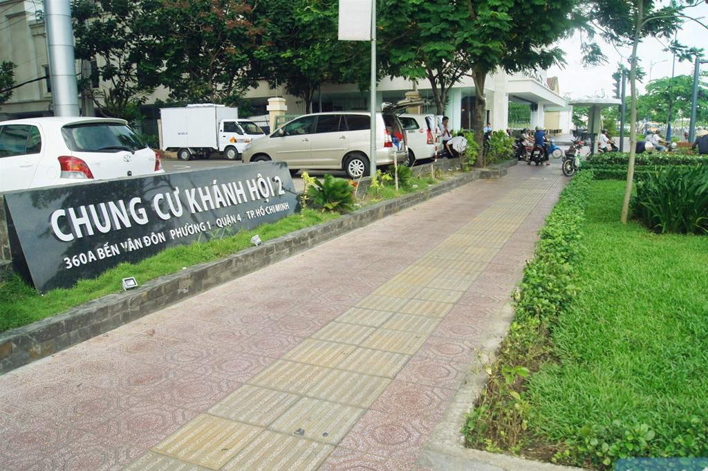 Bán căn hộ 2 phòng ngủ chung cư Khánh Hội 2, Bến Vân Đồn, Quận 4.