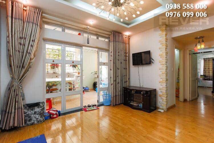 Hình ảnh nội thất căn hộ Khánh Hội 2, loại 02 phòng ngủ, 2 vệ sinh, Block D.