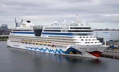 Cruise Ship M/S AIDAbella - Copenhagen Port