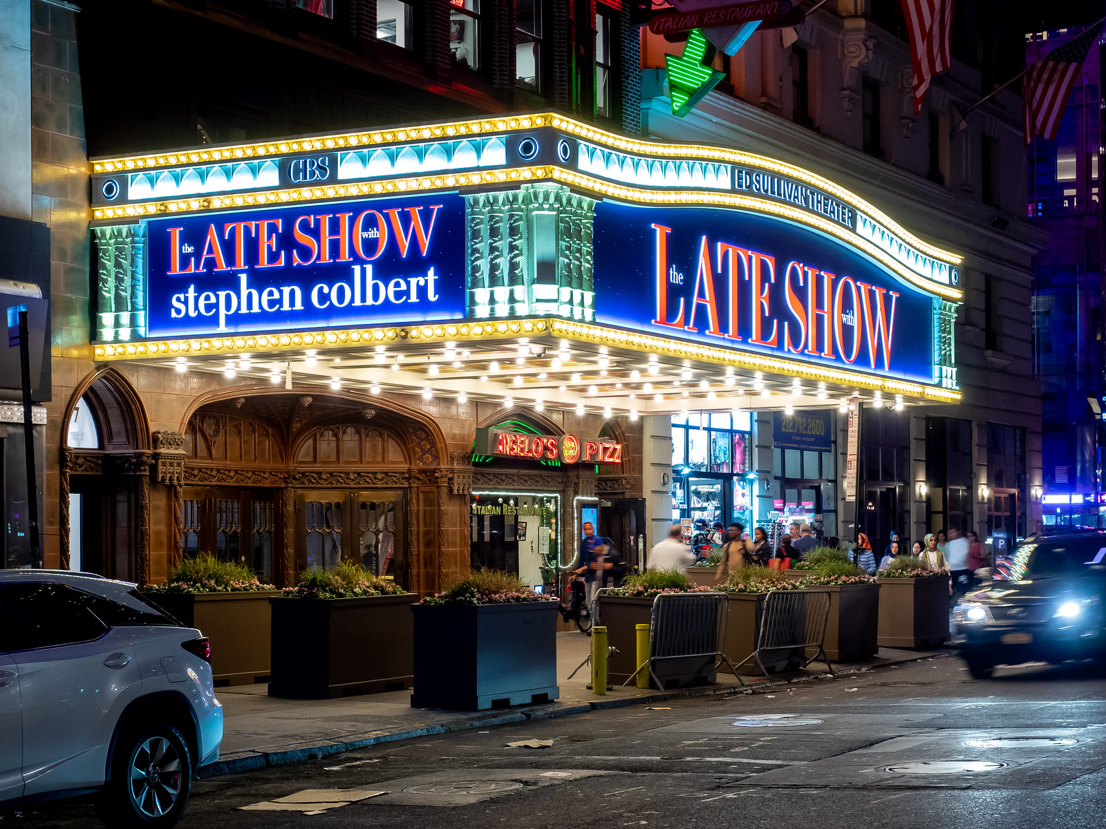 Late Show with Stephen Colbert Signage