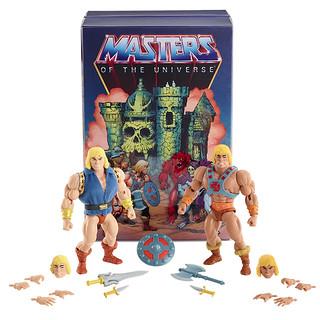 絕對不會碰頭的兩人終於同框?! Mattel《太空超人》太空超人&亞當王子雙人包 Masters of the Universe He-Man & Prince Adam 2-Pack【2019 SDCC 限定】