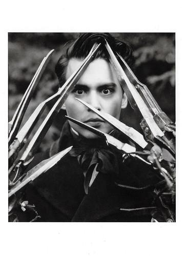 Johnny Depp in Edward Scissorhands (1990)