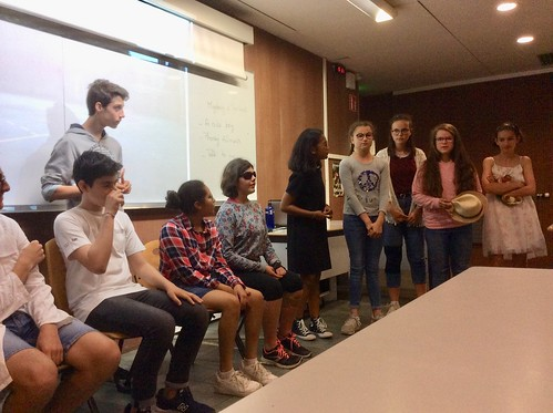 Acting in English in 4° Juin 2019
