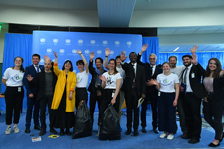 "Word Environment Day Celebrations at the UN Vienna,  with live performance of ""We are walking on"""