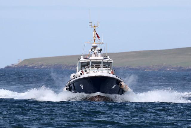 Scapa Pioneer pilot boat
