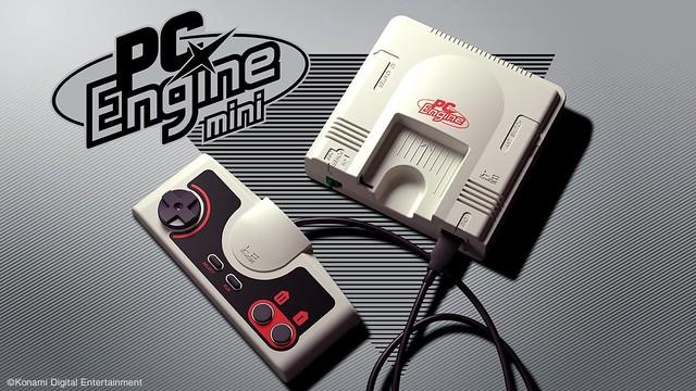 KONAMI 發表迷你主機『PC Engine mini(PCエンジン mini)』,收錄《THE 功夫》、《惡魔城》、《伊蘇》等懷舊名作!