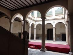 Ágreda - Patio Palacio de Los Castejones.
