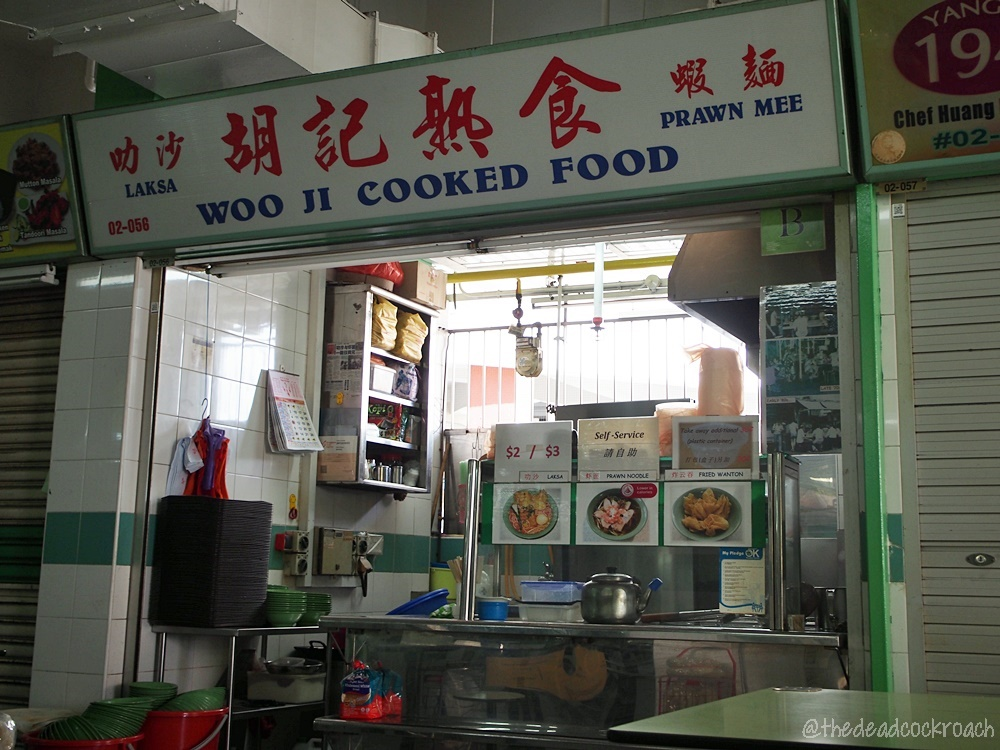 chinatown complex, food, food review, laksa, prawn mee, prawn noodle, review, singapore, smith street, woo ji cooked food, woo ji laksa, woo ji prawn mee, woo ji prawn noodle, 叻沙, 胡記熟食, 辣沙,