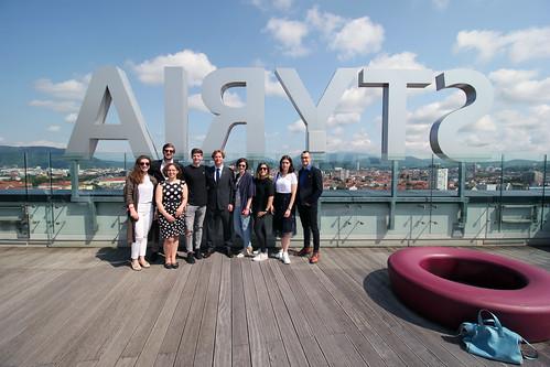 Ambassador Traina Promotes Entrepreneurship in Graz