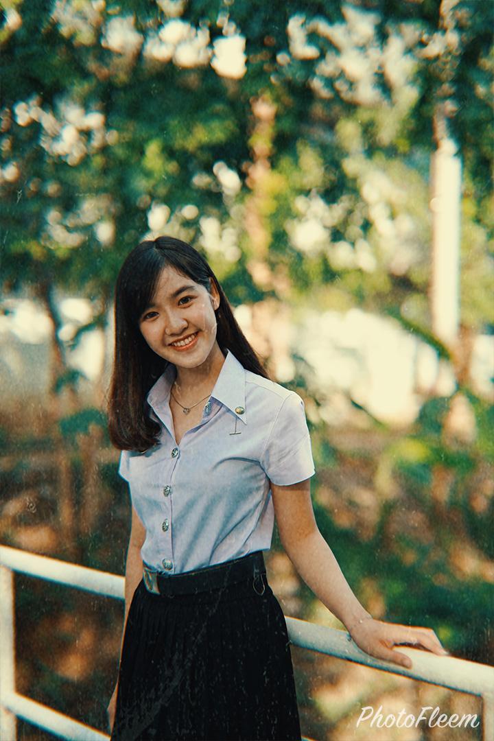 ภาพถ่ายนักศึกษา แต่งโทนกล้องฟิล์ม 1967