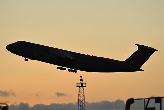 85-0004 Lockheed C-5B Galaxy  US Air Force