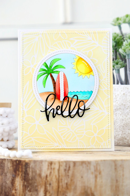 Pretty Pink Posh tropical blog hop!
