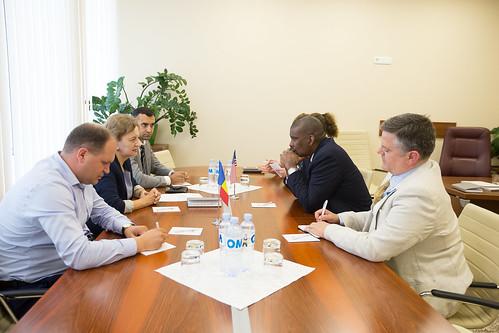 12.06.2019 Întrevedere, Zinaida GRECEANÎI, Președintele Parlamentului RM, cu E.S. dl Dereck J. HOGAN, Ambasador Extraordinar și Plenipotențiar al SUA în Republica Moldova.
