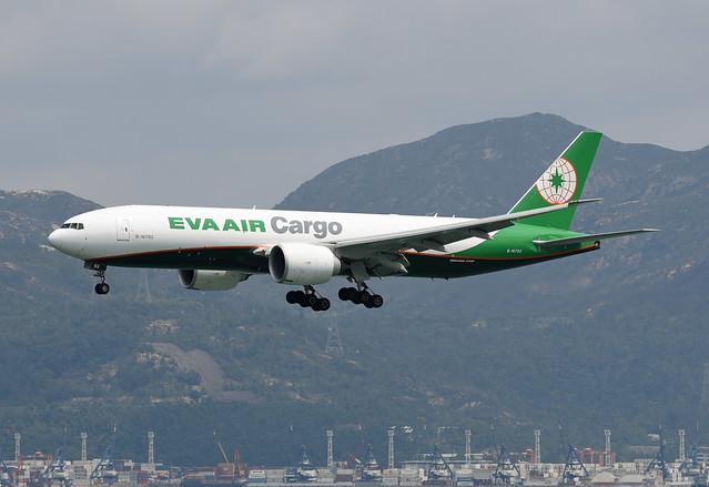 EVA Air Cargo Boeing 777-F5E B-16782