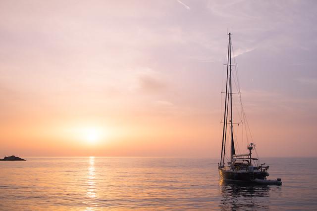 After sailing