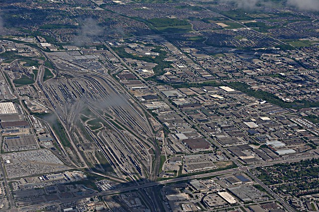 Railway Yard, Concord North of Hwy 7, Departing Toronto, En-route Toronto to Halifax