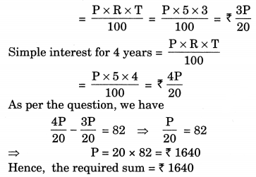 Comparing Quantities Class 7 Extra Questions Maths Chapter 8 Q20
