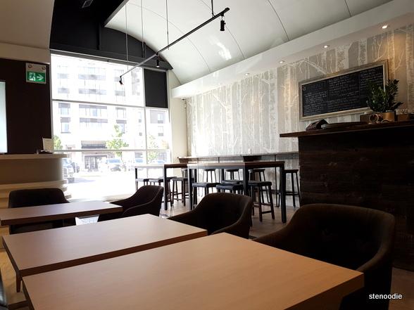 SCENIC coffee + brunch interior
