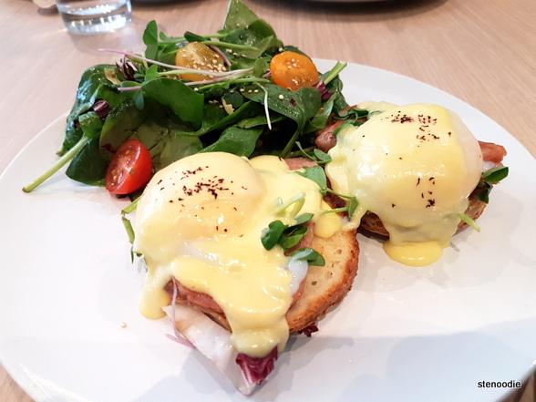 Yuzu Eggs Benedict