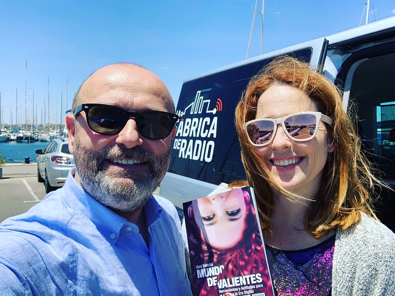 Foto TIB 2019 06 12 Ami Bondia Mundo de Valientes Paco Cremades La Fabrica de Radio
